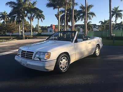 1994 Mercedes-Benz E-Class Convertible 1994 Mercedes E320 Cabriolet New Top Serviced Like New Classic 4 Seater