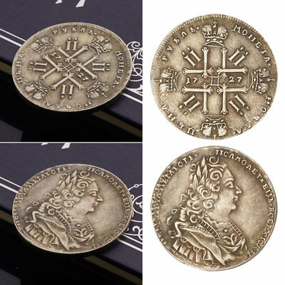 1727 Russian Silver Coins Commemorative Coins Collection Gifts
