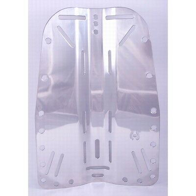 Technical Diving 316 Stainless Steel Back Plate for Wing and Harness
