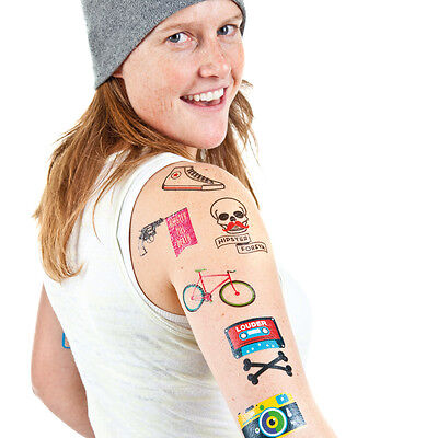 Donkey Products Style-Tattoos Hipster Foreva Papier bunt NEU + OVP