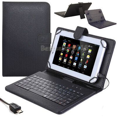 New For Samsung Galaxy Tab E Lite 7.0 SM-T113 Folios Leather Keyboard Cover Case