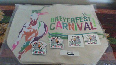Breyerfest 2016 Carnival Canvas Tote Bag with extras