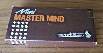 Singapore Airlines promo MINI MASTER MIND VINTAGE BOARD GAME MASTERMIND New