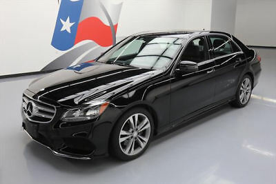 2014 Mercedes-Benz E-Class Base Sedan 4-Door 2014 MERCEDES-BENZ E350 SPORT P1 SUNROOF NAVIGATION 30K #968523 Texas Direct