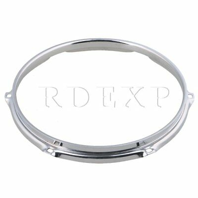 Dia 10 Inch 6 hole Steel Snare Drum Hoops Rims for Drums and Percussion
