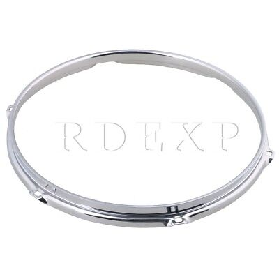 Dia 12 Inch 6 hole Steel Snare Drum Hoops Rims for Drums and Percussion