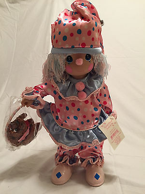 """NEW Precious Moments """"I'D JUMP THROUGH HOOPS FOR YOU"""" Doll - Numbered Edition"""