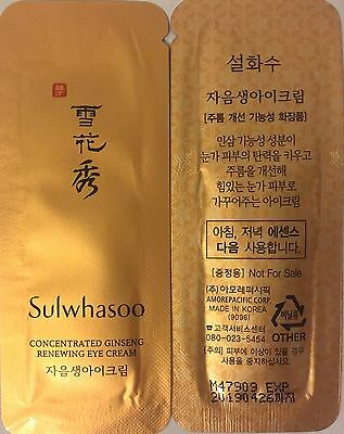 [Sulwhasoo] Concentrated Ginseng Renewing Eye Cream 1ml x 10 pcs