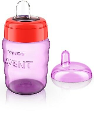 Philips Avent Easy Sip Spout Bottle 260 ml Pink Easy Assembly Top Quality New