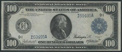 Fr1116 $100 1914 Frn Minneapolis Burke / Mcadoo (Only 61 Known) Wlm4155