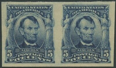 #315 Xf Og Nh Pair With Photocopy Of 2015 Pf Cert Cv $1,500 Wlm4164