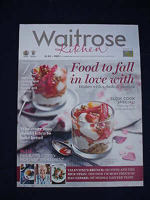 Waitrose Kitchen magazine - February 2015 - Food to fall in love with