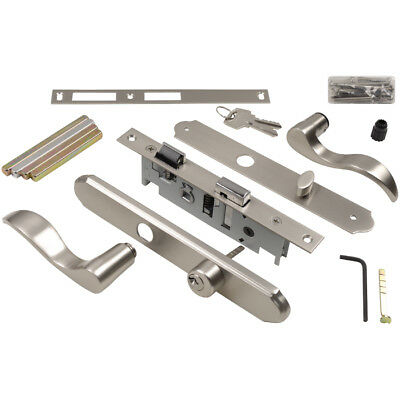 WRIGHT PRODUCTS Screen and Storm Door Mortise Latch 4-in Keyed Satin Nickel New