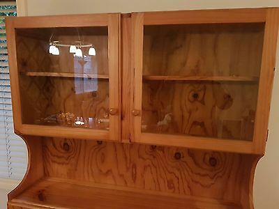 Pine Wood Kitchen Cabinet