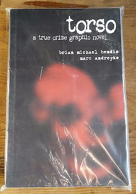 TORSO A TRUE CRIME GRAPHIC NOVEL by Brian Michael Bendis (Paperback)
