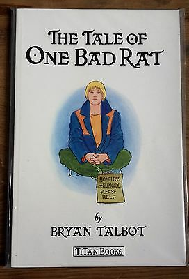 THE TALE OF ONE BAD RAT by Bryan Talbot 1st UK Edition (Paperback) Graphic Novel