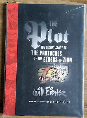 THE PLOT by Will Eisner (Hardback) 1st Edition Graphic Novel