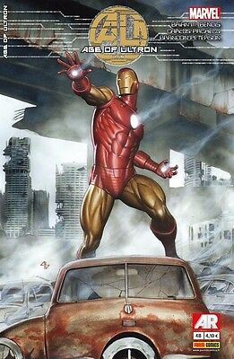 MARVEL_AGE OF ULTRON Book Five_Variant Cover by ADI GRANOV_1:50 Ratio Iron Man