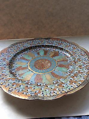Antique Chinese Small Plate - highly decorated and very beautiful but imperfect