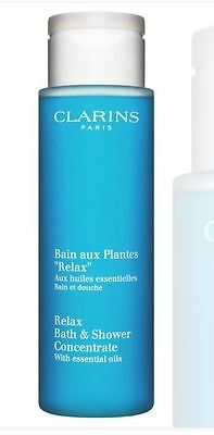 Clarins - 'Relax' bath and shower 100ml AND body treatment oil 30ml
