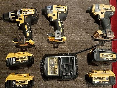Dewalt 18v XR brushless drill kit