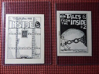 Tales From The Inside #1 & 2 Comix World 1981-82 50 Copies Each Kennedy #1946-47