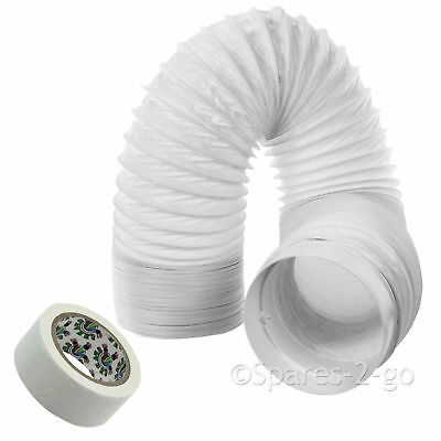 """6m Vent Hose PVC Duct 5"""" Extension for Hotpoint Air Conditioner Conditioning"""