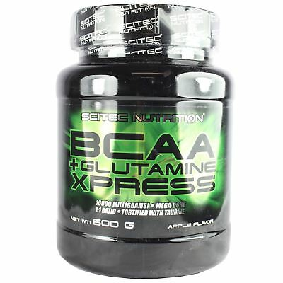 Scitec Nutrition BCAA + Glutamine Xpress Branched Chain Amino Acids 600g