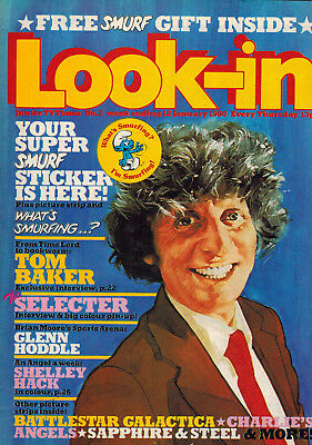 LOOK-IN MAGAZINE 12th January 1980 Doctor Who cover