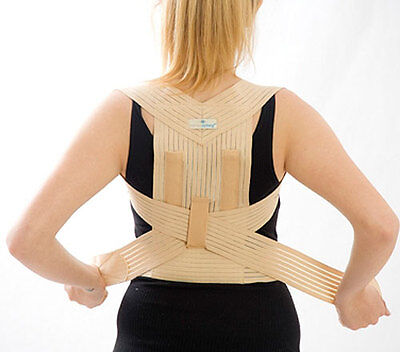 Deluxe Correct Posture Correction Back Brace Support Morsa CY CPT1 Kyphosis