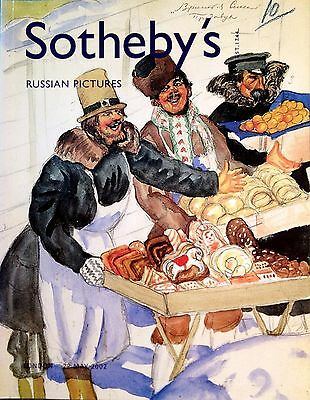 Sotheby's RUSSIAN PICTURES Paintings, Drawings, Costume Designs London 2002