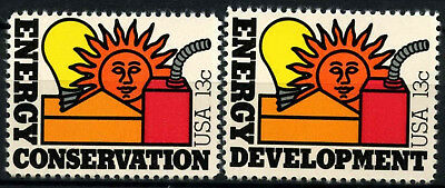 USA 1977 SG#1703-4 Energy MNH Set #D55504