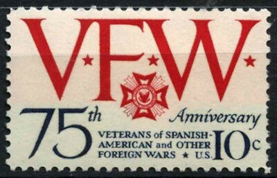 USA 1974 SG#1523 Veterans Foreign Wars MNH #D55486