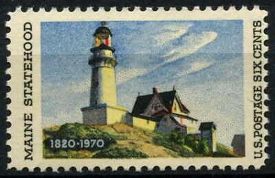 USA 1970 SG#1381 Maine Statehood Lighthouse MNH #D55457