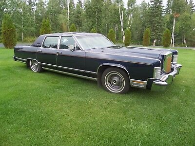 Lincoln: Continental 1979 Lincoln Continental Town Car - Collectors Series