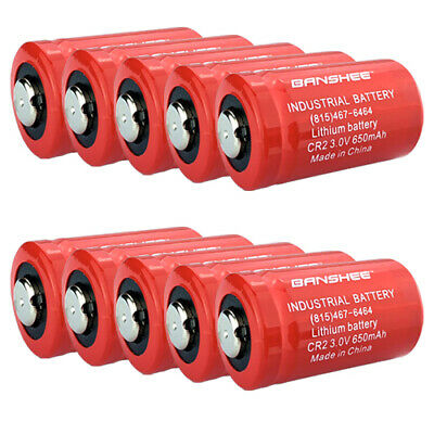 10pcs. Replacement Panasonic CR2 EL1-CR2 ELCR2 DLCR2 Photo 3V Lithium Battery