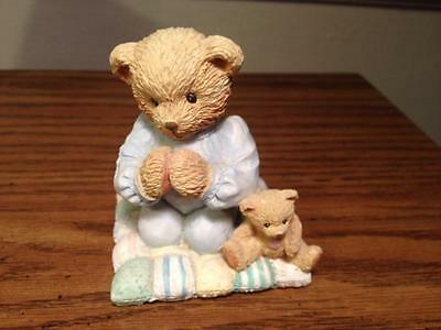 """Cherished Teddies Patrick """"thank You For A Friend That's True"""" 1992"""