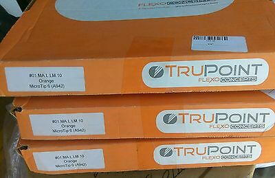 FLEXO PRINT Anilox Roller Blades TruPoint Orange Doctor Blades  box of 20 (A942)