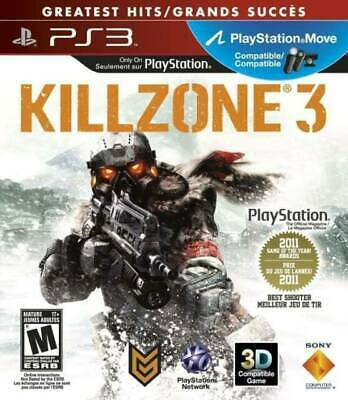 PlayStation 3 : NEW Killzone 3 PS3 (Videogame Software) VideoGames