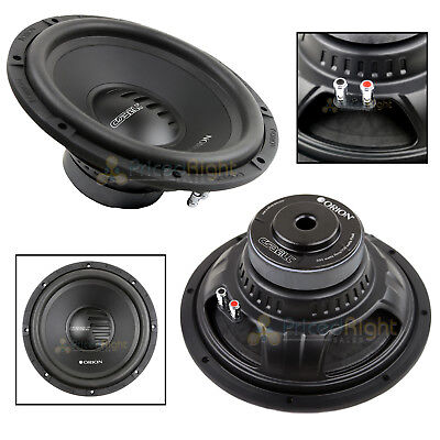 New Orion Cobalt CO124S Series 12 Inch 1400 Watt Max 4 Ohm Single Subwoofer