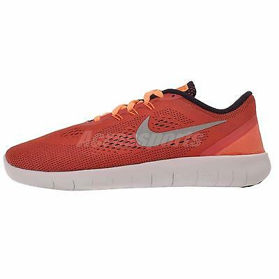 Nike Free RN GS Kids Youth Womens Running Shoes Ember Glow 833993-801