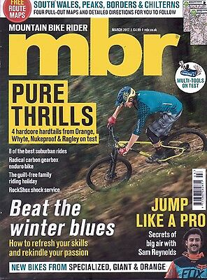Mbr - Mountain Bike Rider Magazine - March 2017