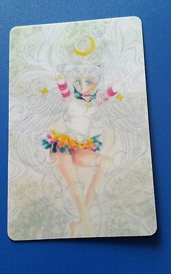 Sailor Moon Glossy sticker card