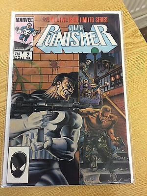 RARE 1985  The Punisher Marvel Comic Issue #2 in a limited series of 5