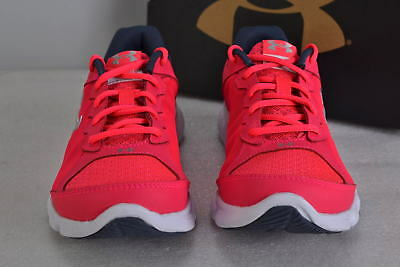 Girl's Under Armour  1266320-600 Micro G Assert 6 Shoes Pink    4.5Y