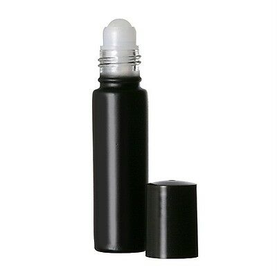 Mystic Black (144 Roll-On Bottles)  1/3 oz. Glass Perfume Oil Roll-On Bottles