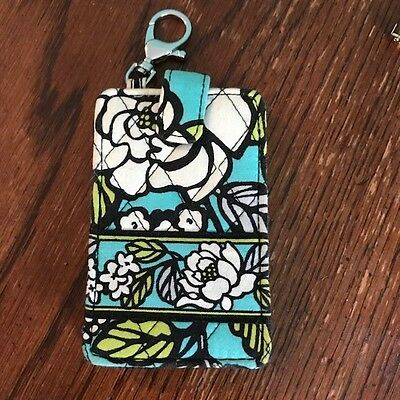 Good condition VERA BRADLEY cell phone pouch with snap closure