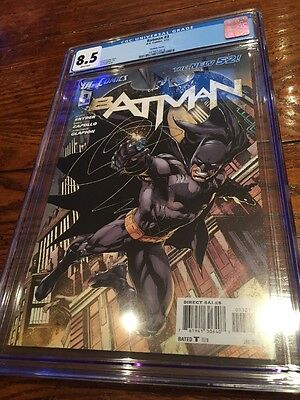 Batman #3 Ivan Reis Variant New 52 CGC 8.5 DC Comics Scott Snyder Greg Capullo