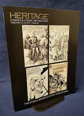 Heritage Comics & Comic Art Catalog Ethan Roberts Estate Ditko Wrightson...