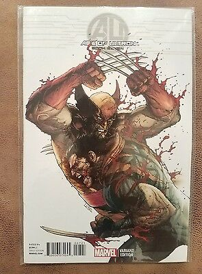 AGE OF ULTRON (AVENGERS) (2013 Series) #7 VARIANT 1:50 NM Comics Book Wolverine